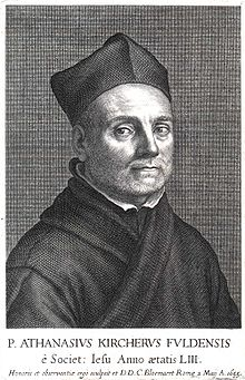 Aþanasíu Kircher.