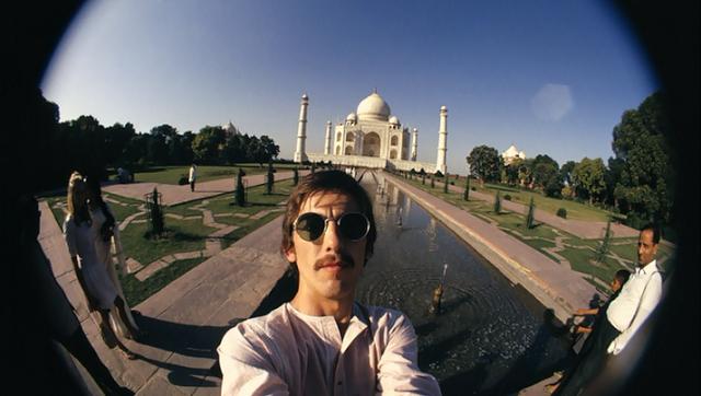"""Frábærar """"selfies"""" eftir George Harrison á Indlandi"""