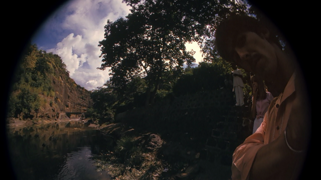 George Harrison's fisheye self-portraits in India, 1966 (5)