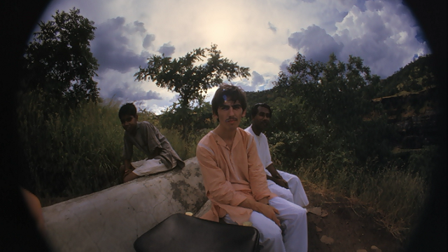 George Harrison's fisheye self-portraits in India, 1966 (6)