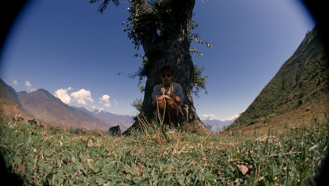 George Harrison's fisheye self-portraits in India, 1966 (8)