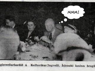Eisenhower forseti vildi kaupa allan íslenskan fisk og gefa í þróunaraðstoð