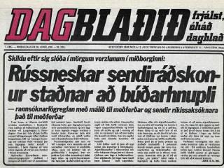 Rússneskar sendiráðskonur staðnar að búðarhnupli
