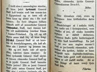 """Hinn víðförli """"Staff"""" hershöfðingi"""