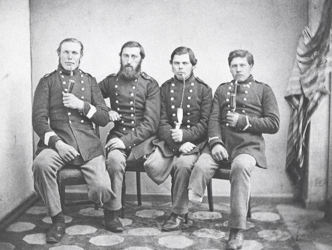 Danskir hermenn sem börðust 1864