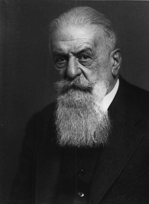 Dr. Eugen Steinach (1861-1944), lærimeistari Jónasar í Vínarborg.