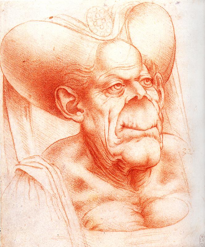 Ljóta konan sem da Vinci teiknaði er nauðalík þeirri flæmsku.