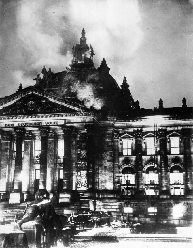 Ráðgátan um brunann í Reichstag enn óleyst 82 árum síðar