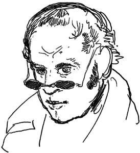 Sjálfsmynd Rodolfe Töpffer.