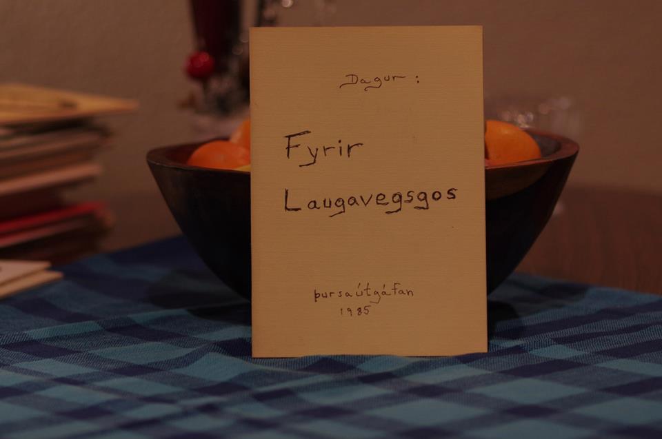 Dagur Sigurðarson: Fyrir Laugavegsgos.