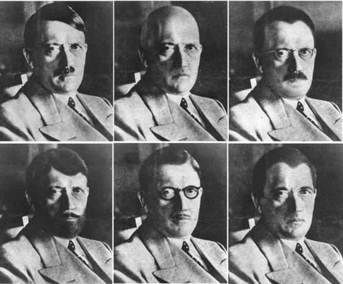 Flóttadulargervi Adolfs Hitlers
