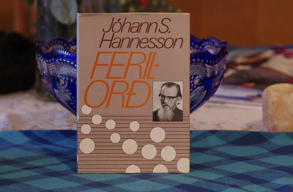 Jóhann S. Hannesson: Ferilorð.