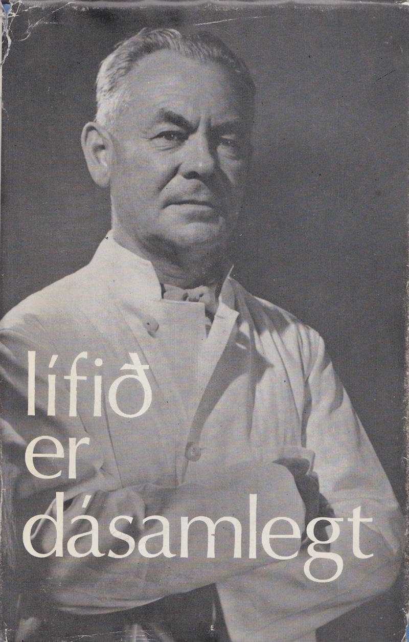 """""""Lífið er dásamlegt"""". Ævisaga Jónasar."""