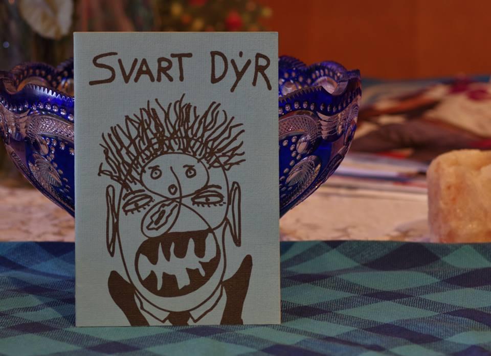 Þorri: Svart dýr.