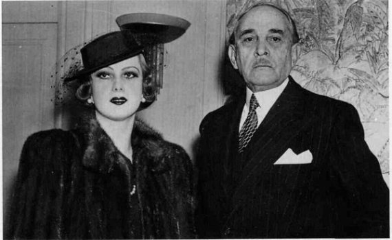 Serge Voronoff og frú.