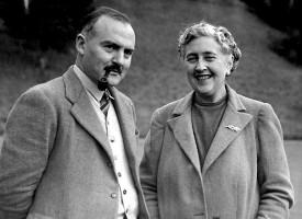 Hjónin Mallowan og Christie.