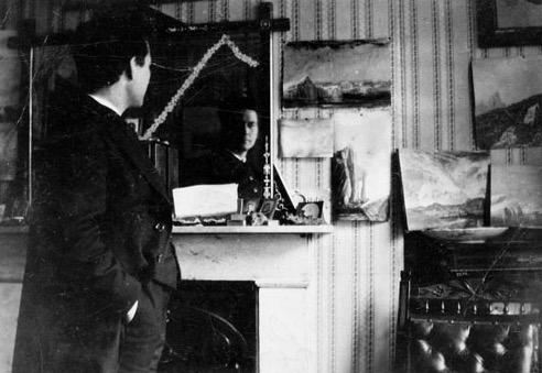 Einar í London árið 1912.