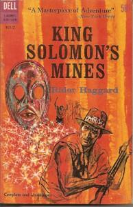 King Solomon's Mines eftir H. Rider Haggard kom fyrst út árið 1885.