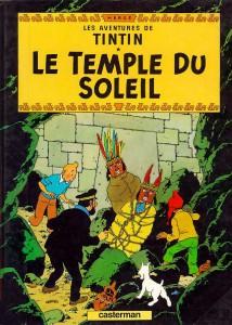Fjórtánda Tinnabókin, Le Temple du Soleil, kom út árið 1946.