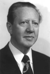 Gunnar Thoroddsen borgarstjóri í Reykjavík 1947-1959