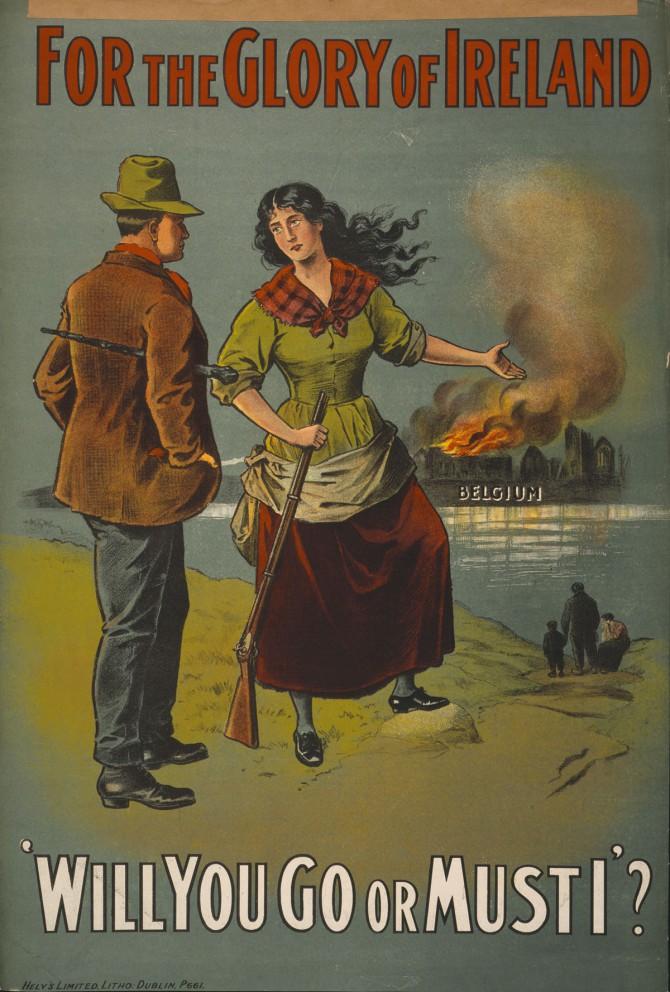 Áróðursmálaráðuneytið: Írsk karlmennska að veði
