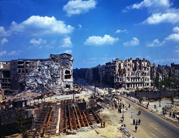 Berlín í júlí 1945 í lit