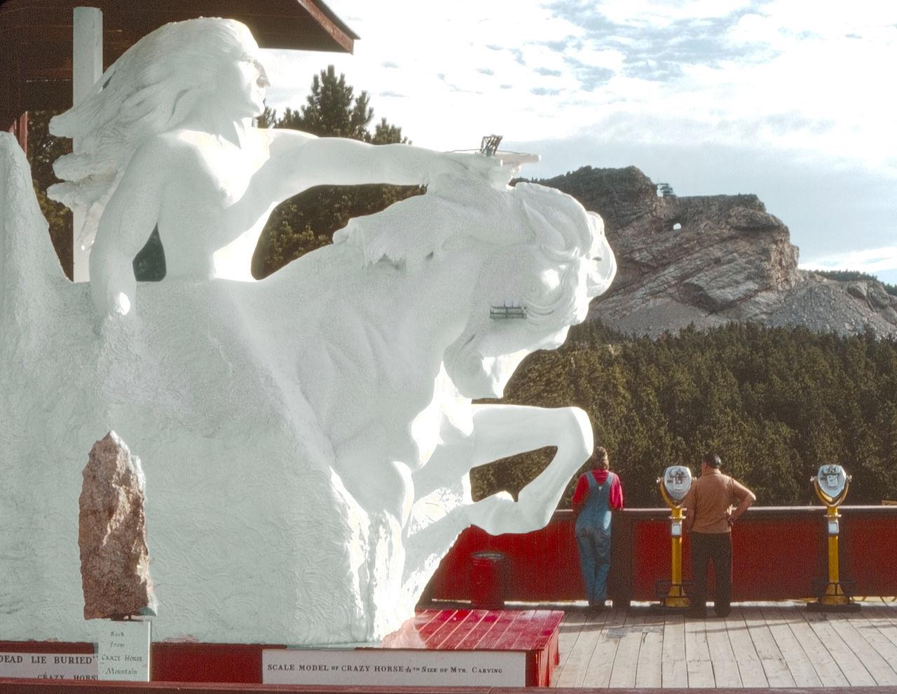 Crazy_Horse_Memorial_Model