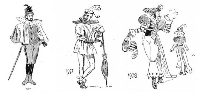 1970-1980. Sama gamla sirkusstemningin.