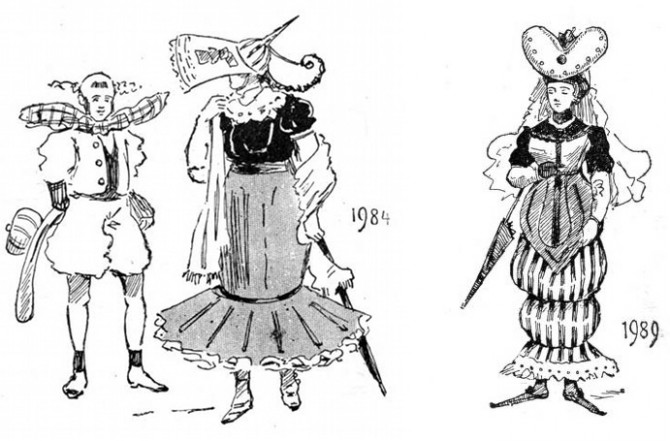 1980-1990. Níundi áratugurinn var dálítið barrokk.