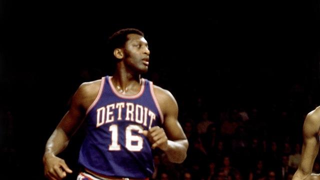 Lanier í leik með Detroit Pistons árið 1970.