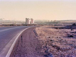 Regnbogi yfir 'Viking Mall': Stórskemmtilegar Íslandsmyndir bandarísks hermanns frá 1983 til 1984