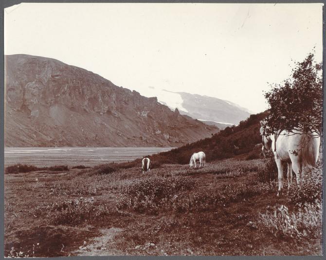 Þórsmörk og Eyjafjallajökull, um 1900