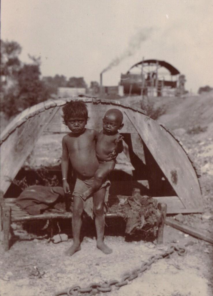 Börn í Kalkútta, 1903.