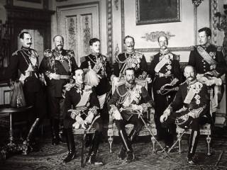 Konungar Evrópu, 1910