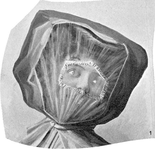 Franskt kvennablað árið 1906: Hver er undir hulunni?