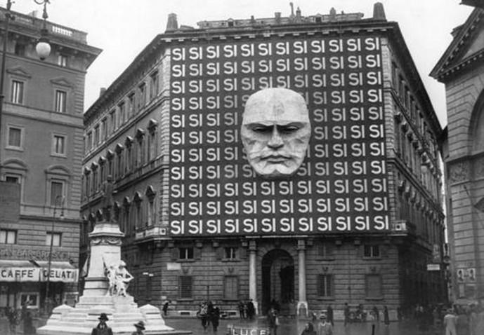 Bygging fasistaflokksins í Róm, 1934