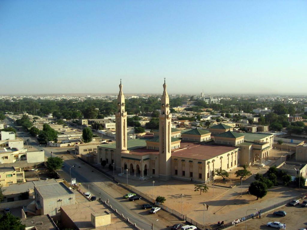 Moska í höfuðborginni Nouakchott.