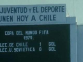 Chile-Sovétríkin 1973: Skorað í autt mark liðs sem var ekki á staðnum