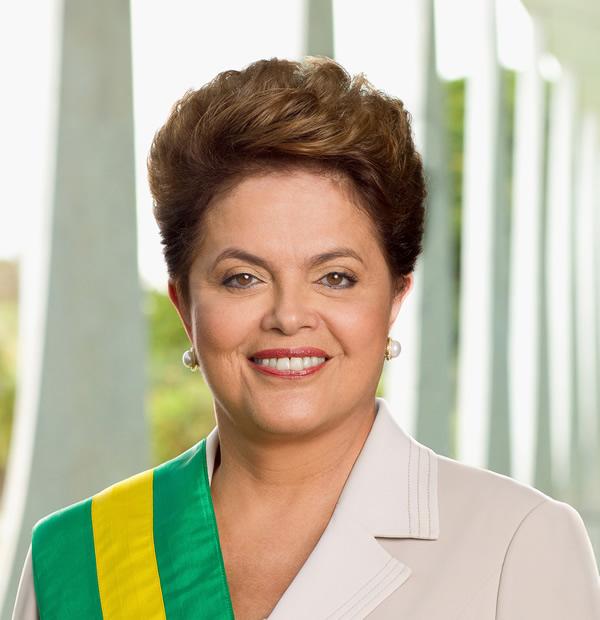 Opinber mynd frá 2011 af Dilmu Rousseff, forseta Brasilíu.