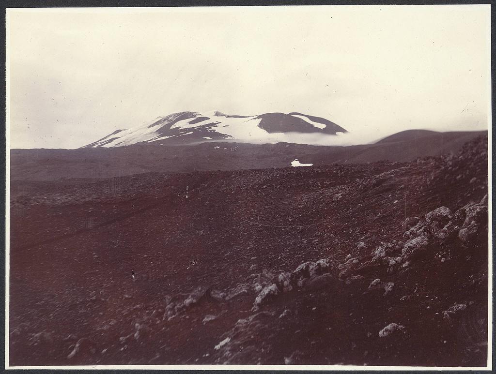 Hekla með augum Howells um 1900