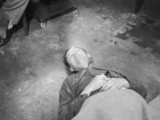 Heinrich Himmler tekur blásýru