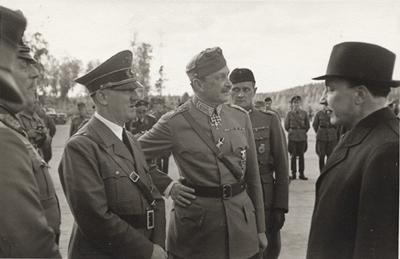 Hitler og Mannerheim.