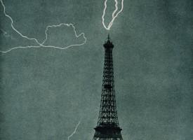 Elding í Eiffel-turninum