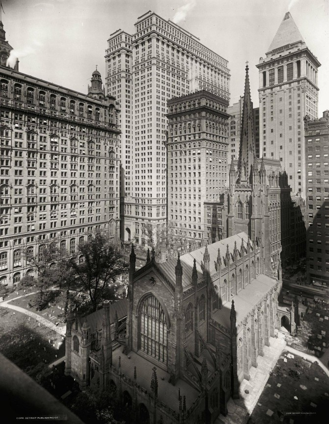 Trinity Church, New York, 1910
