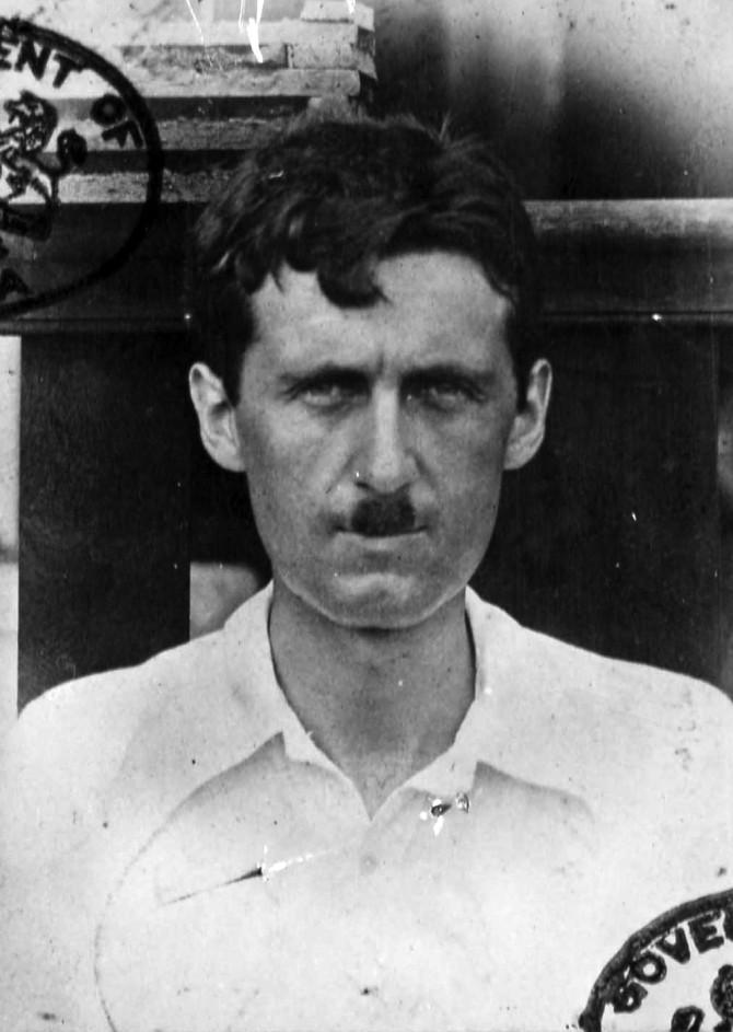 George Orwell í Búrma