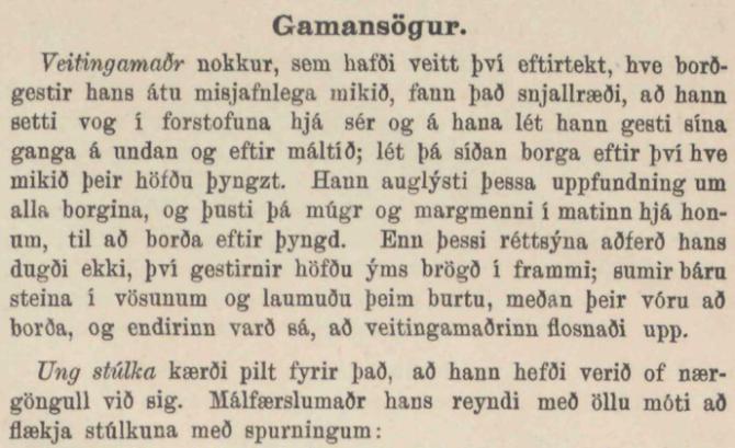 """""""Karlskepnan var orðinn ruglaðr af því, að hann hafði verið fullr"""""""