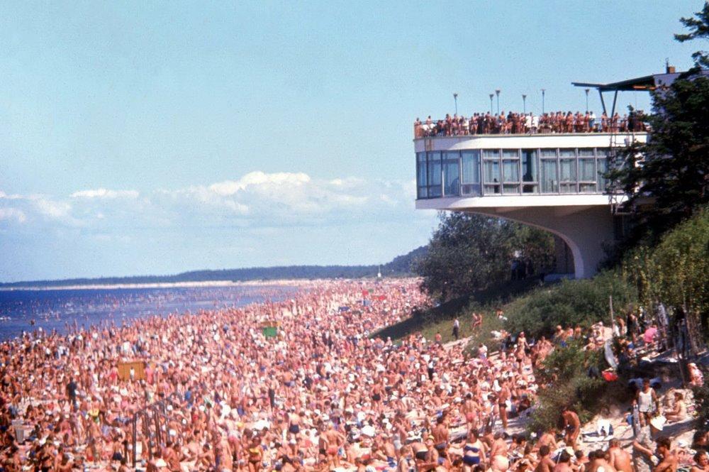 Riga Beach 1970s