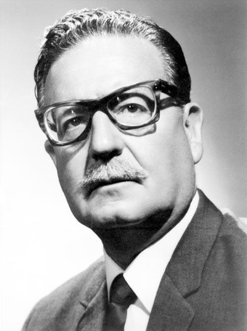 Salvador Allende. Forseti Síle, 1970-1973.