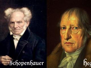"""Schopenhauer um Hegel: """"Klaufskur og viðurstyggilegur svindlari og illmenni"""""""