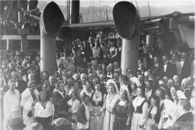 Frábærar ljósmyndir þýskra túrista á Íslandi árið 1925